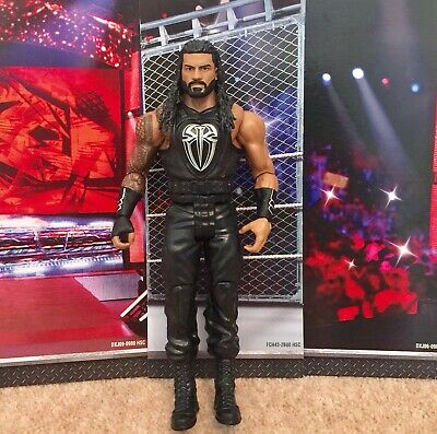 WWE Mattel action figure BASIC Series ROMAN REIGNS Beard kid toy PLAY Wrestling