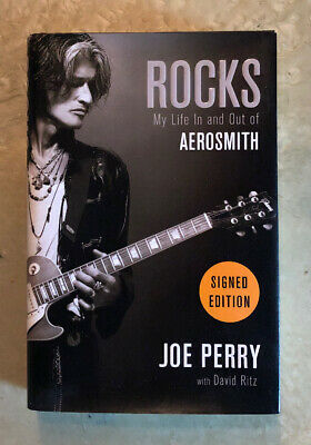 JOE PERRY signed/autographed ROCKS book MY LIFE IN AND OUT OF AEROSMITH