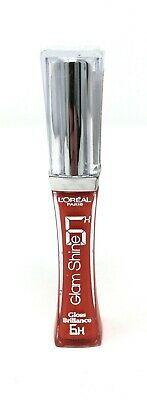 L'Oreal Glam Shine 6 Hour Lip Gloss Fresh Tangerine 405 - New