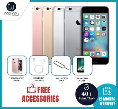 Apple iPhone 6s 16GB 32GB 64GB 128GB Unlocked Smartphone Various Colours Grades
