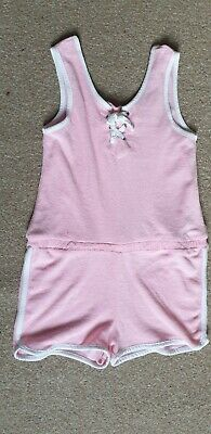 Girls towelling beach Playsuit