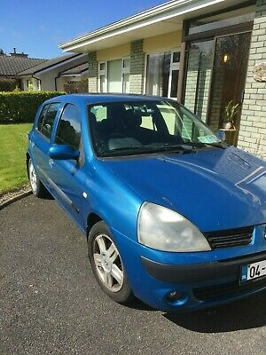 Renault Clio 1.2 Dynamique 16V, 112,000 miles, 1 owner.  NCT to May 2020.