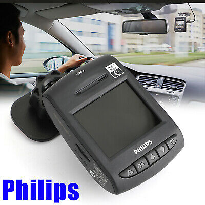 Full HD Emergency Record 1080P For PHILIPS Car DVR Wide-Angle Lens Dashcam