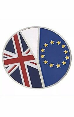 1Pc BREXIT COIN  23 June 2016 Silver Commemorative Coin Collectible Gift