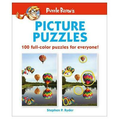 Puzzle Baron's Picture Puzzles by Stephen P Ryder, Dorling Kindersley Publish...