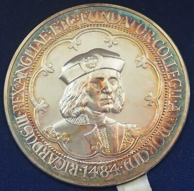Royal Mint - 1984 Quincentenary college of arms Henry VII portrait medallion
