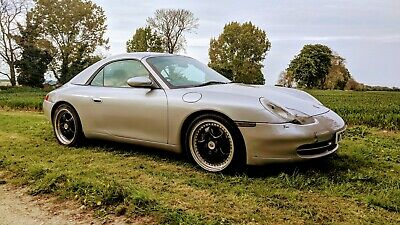 Porsche 911 Carrera Cabrio Convertible Tiptronic 6 speed 2000 Factory H/Top #52