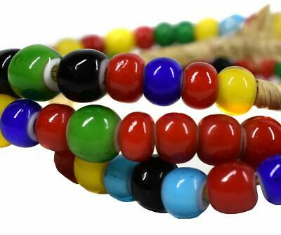 Whitehearts Trade Beads Colorful Africa