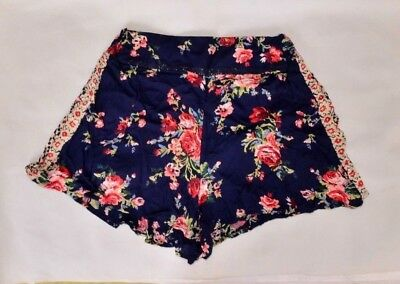 Angie Black Lace Shorts Junior Size Choose S M or L New with Tags BNWT
