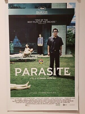 Parasite (2019) Bong Joon Ho 11x17 Movie Poster Best Picture Oscar