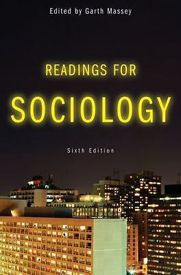 Readings for Sociology, Sixth Edition, , Good Book