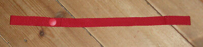 New red pram pushchair toy tie retainer from Mothercare