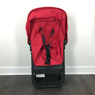 Bugaboo Cameleon Seat and Frame Red stroller parts Used canopy
