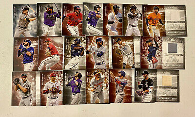 (19) 2020 Topps Series 1 Major League Material Jersey Relic Set Lot x19 No Dupes