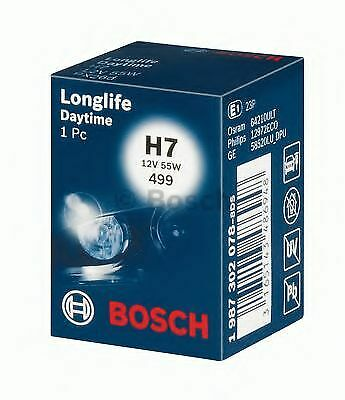 Longlife 499 H7 12v 55w Px26d fits SEAT Bosch Genuine Top Quality Product New