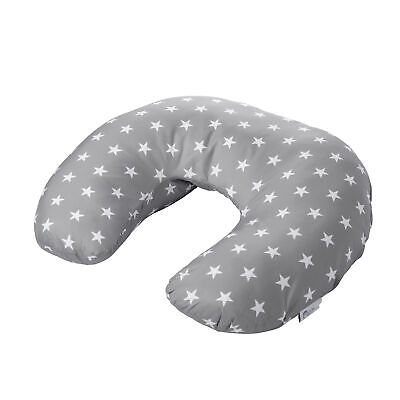 Breast Feeding Nursing Pillow Baby Maternity - Grey with Stars