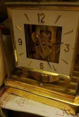 Jaeger LeCoultre Atmos clock (NEW?) -with BOX,MANUALS (OFFER)
