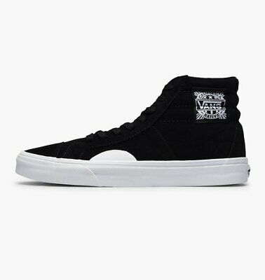 Mens Vans Style 238 Native Suede Black/White Trainers (LF1) RRP £65.99