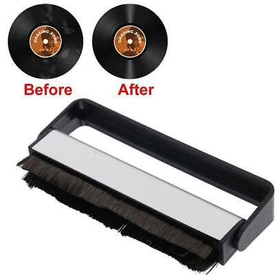 Anti-static Vinyl Record LP Carbon Fibre (Fiber) Record Cleaner Cleaning Brush_