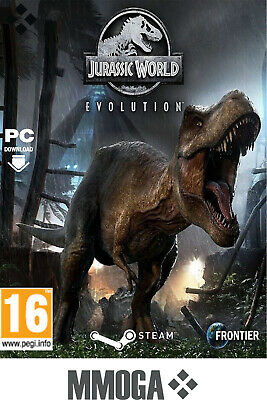 Jurassic World Evolution Key - PC Steam Digitale Download Code - Weltweit/DE