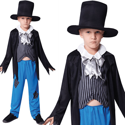 KIDS BOYS VICTORIAN BOY COSTUME CHILD URCHIN BOOK DAY PEASANT FANCY DRESS OUTFIT