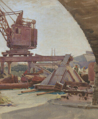 Attrib. Cecil Cross - Early 20th Century Watercolour, Work Day