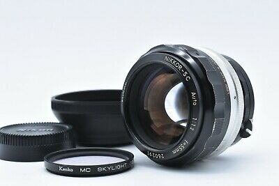 [EXC+++++] NIKON Nikkor S.C Auto 55mm f/1.2 MF Lens Non Ai sc from Japan #793
