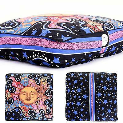 35 '' Floor Pillow Cover Hippie Square Disposable Cushion