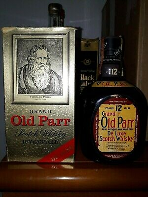 Grand Old Parr De Luxe 12 Y.o.  Scotch Whisky Cl. 75 Macdonald Greenlees Ltd
