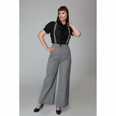 Collectif Mainline Glinda Houndstooth Trousers