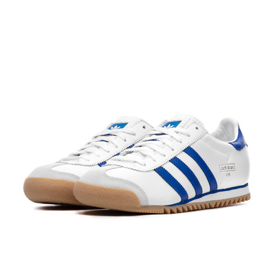 Mens Adidas Originals Rom White/Royal Trainers (TGF45) RRP £89.99