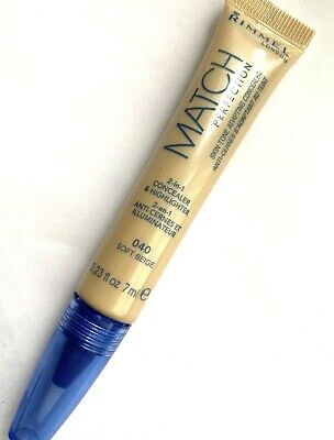RIMMEL MATCH PERFECTION SKIN TONE ADAPTING  2in1 CONCEALER 40 Soft Beige