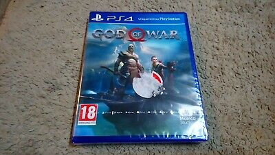 God Of War Jeu Ps4 Neuf Sous Blister Pal Fr Playstation 4