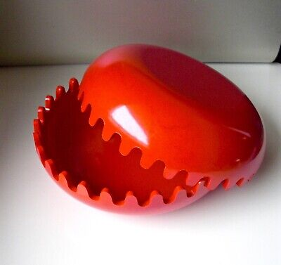 Clam Ashtray Design Alan Fletcher Trinket Box 1970s ! EX