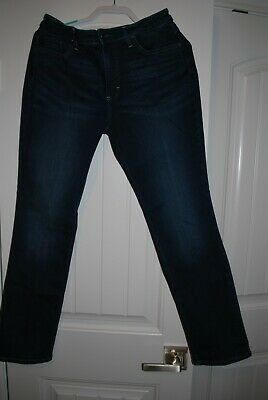 Womens Riders by Lee Midrise Straight Leg Jeans Size 12M Inseam 29 Slightly Worn