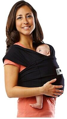 Baby Ktan ORIGINAL Cotton Wrap style Baby Carrier, Eggplant, Small