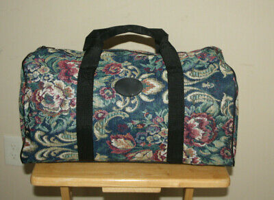Tapestry Duffle Bag Carpet Bag Theatrical Prop Mary Poppins