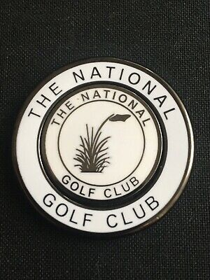 THE NATIONAL Australia Golf Ball Marker With Removable