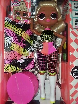 New LOL Surprise OMG LIGHTS Speedster Fashion Doll With 15 Surprises IN HAND