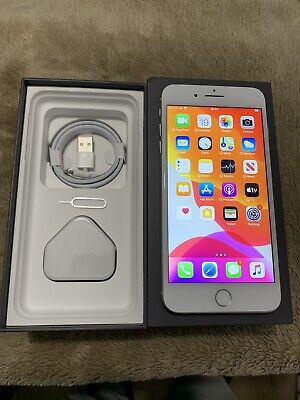 Apple iPhone 8 Plus 64GB (Unlocked) Silver MINT CONDITION see All Pictures
