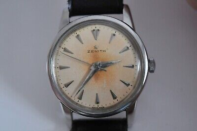 very nice old Vintage Zenith watch hand winding central second