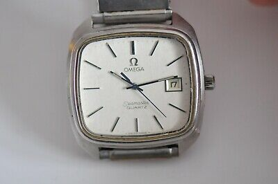Old Vintage Omega Seamaster  Quartz  watch with date