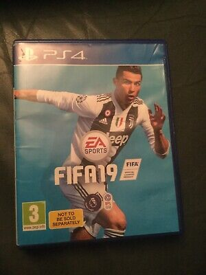 FIFA 19 - Standard Edition Game (Sony PlayStation 4, 2018)