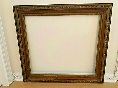 Walnut Compo Swirl Leaf Molding Large Late 19th Century Victorian Frame