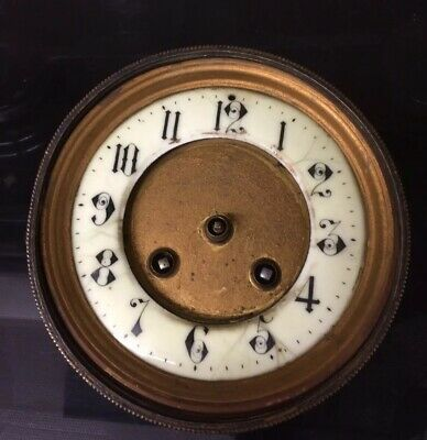 """A D Mougin"" Antique French Clock Striking Movement Spares And Repairs"