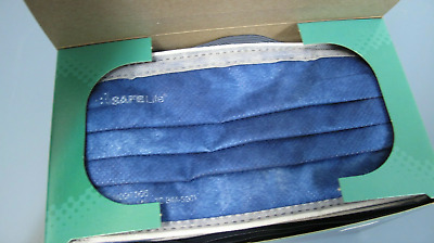 SAFE Life N95 Respirator Surgical Mask Sz s/m Box of 25 Made in USA high quality