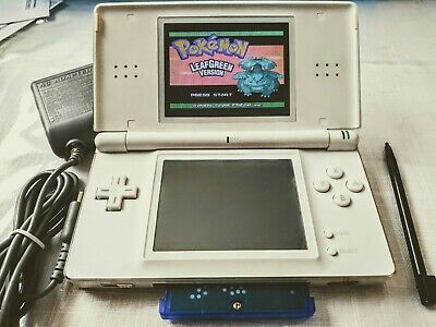 Nintendo DS Lite Console+All Pokemon Games From Gameboy Advance sp+300 & charger