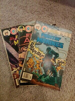 Old War Comics, Marvel, DC, Other Silver & Bronze age, no duplicates, lot of 12