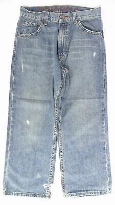 Arizona Boys size 12 Cotton Vintage Wash 5-Pocket Classic Jeans Pant Blue CHOP