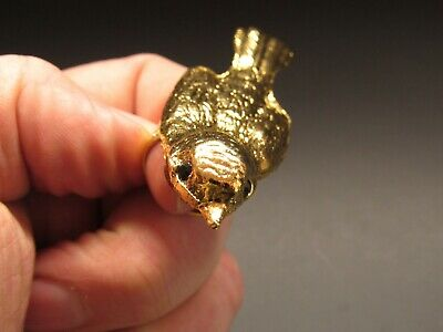 Miss Ellie NYC Sparrow Ring Adjustable Band Antique Gold Tone